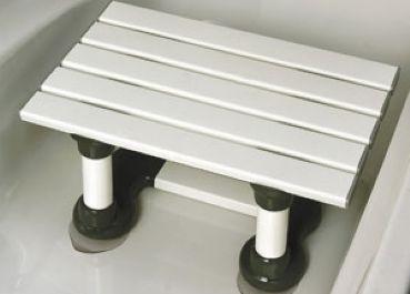 tabouret de bain avec ventouse 30 20cm hauteur proximit sant asbl. Black Bedroom Furniture Sets. Home Design Ideas